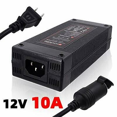 Isaddle 110v Ac To 12v 10a Dc Power Converter 110v 240v Wall In 2020 Power Converters Car Vacuum Car Vacuum Cleaner