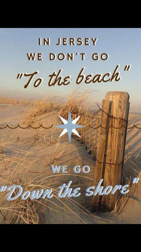 """IN NEW JERSEY, WE DON'T """"GO TO THE BEACH""""...WE GO.... - http://www.razmtaz.com/in-new-jersey-we-dont-go-to-the-beach-we-go/"""