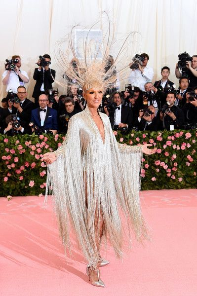 Celine Dion Photos Photos The 2019 Met Gala Celebrating Camp Notes On Fashion Arrivals Met Gala Gala Celebrities