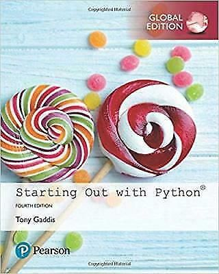 PDF] Starting Out with Python, Global Edition by Tony Gaddis