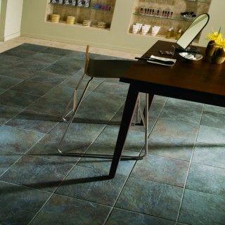 Nice Slate Contemporary Tile Floor Kitchen Floor Tile Grey