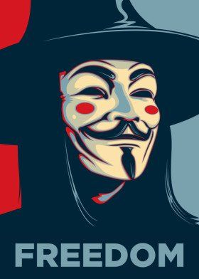 Freedom V Vendetta Vforvendetta Anarchy Anonymous Guy Fawkes