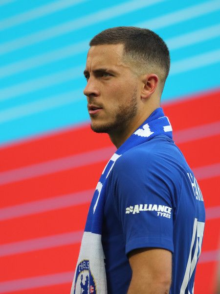 Eden Hazard Photos Photos Chelsea Vs Manchester United The Emirates Fa Cup Final Football Hairstyles Eden Hazard Mens Hairstyles