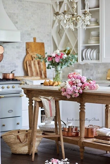 11 Ways To Add A Vintage Style Charm To A New Kitchen French Country Cottage In 2020 Country Cottage Decor Country Kitchen Designs French Country Kitchens,How To Whitewash Paneling With Paint