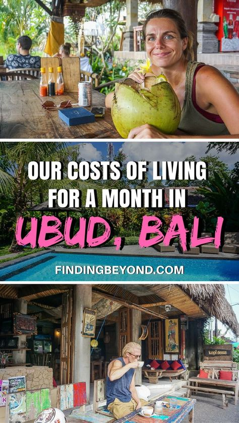 Thinking of a move to Ubud in Bali? Read this article for a breakdown of our cost of living in Ubud for a month while spending three months in Penastanan. Travel in Asia.