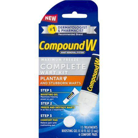 Compoundw Maximum Freeze Complete Wart Kit 1 0 Kit Warts Tea