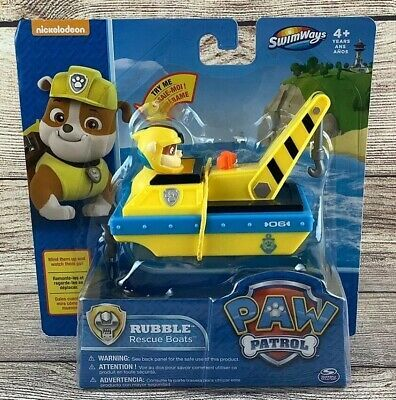 Quatang Gallery- Paw Patrol Sea Patrol Rescue Boat Rubble Water Pool Bath Toy Paddlin Pup Vehicle 795861263540 Ebay In 2020 Paw Patrol Bath Toys Paw Patrol Toys