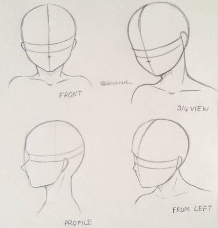 38 Ideas Drawing Anime Body How To For 2019 Anime Drawings Tutorials Drawing Heads Anime Head