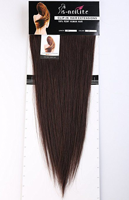 Clip In 100 Remy Human Hair Extensions 10 Inches 2 Inches Grade