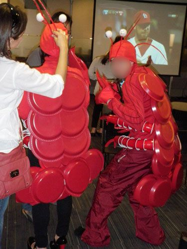 costume idea - Lobster!