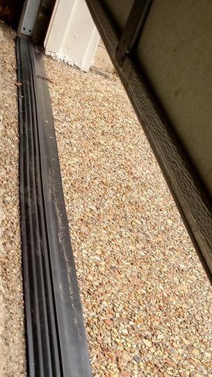 Tsunami Seal 16 Ft Black Garage Door Threshold Kit 53016 Garage Door Threshold Door Thresholds Black Garage Doors