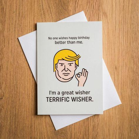 Terrific Trump Fodselsdagskort With Images Trump Birthday Card Funny Birthday Cards Birthday Cards For Boyfriend