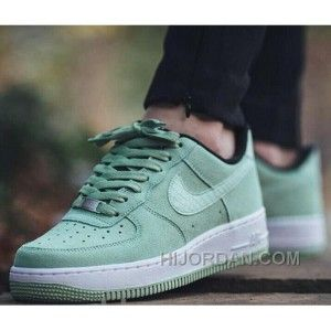 Nike WMNS Air Force 1 Low Mint Green Men Crocodile Leather