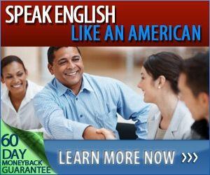 english like an american