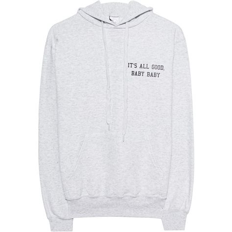 Hoodie L.a.lu It's All Good Baby Baby Design