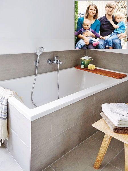 Anika Und Frank Schlabinger Sind Die Glucklichen Gewinner Der Badezimmermodernisierung Von Wohnidee Und Geberit In 2020 Sloped Ceiling Bathroom Dream Bathroom Bathroom