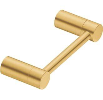 Moen Yb0408bg Brushed Gold Align Wall Mounted Paper Holder Paper Holder Modern Toilet Paper Holders Moen