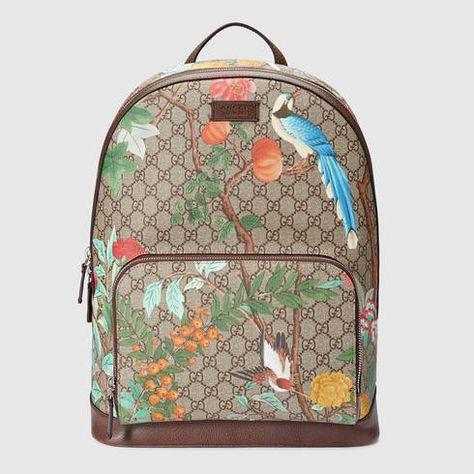 Gucci Tian GG Supreme backpack - Gucci Men s Backpacks 428027K0LCN8685 602aff3a38e