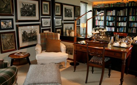 The new Library sitting room in the Cavalier Suite
