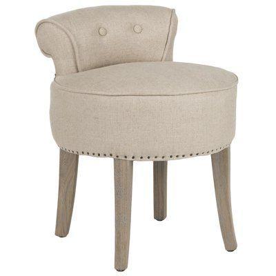 Low Back Dressing Table Stool Vanity Stool Furniture Vanity Chair