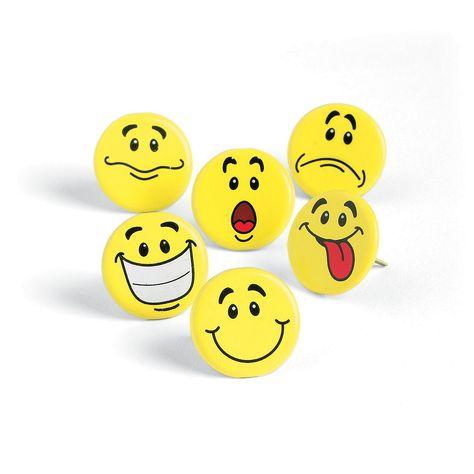 Fun Express Smile Face Bouncing Balls 1-Pack of 48