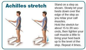 Pin On Achilles Tendon Stretch