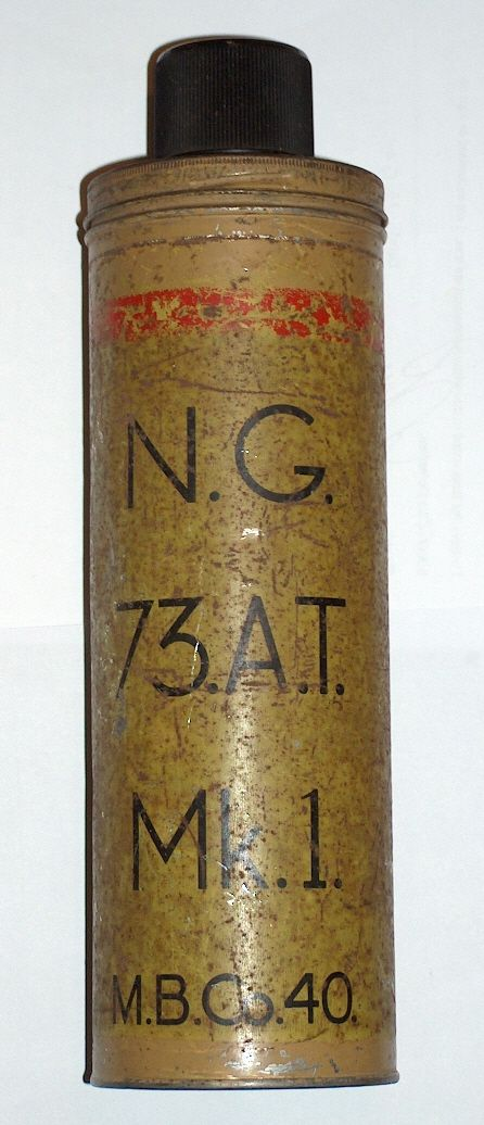 "No 73 ""Thermos Bomb"" antitank grenade | 手投げ弾"