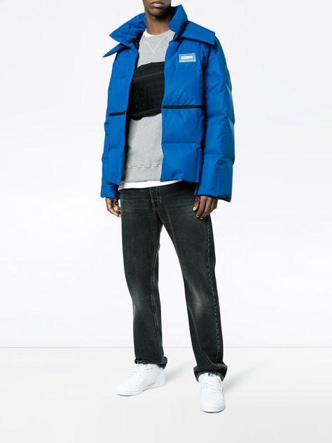 1b58d3a4f834 Achetez Off-White Reflective Puffer Jacket   HOMME S19   Pinterest ...