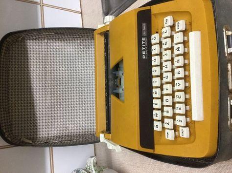 Vintage Petite Child S Typewriter De Luxe International Case 1970 S Northern Ireland Gumtree Office Phone Landline Phone Corded Phone