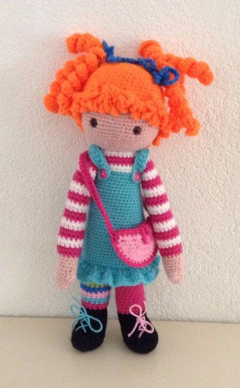 Pipi mod made by Irene J.-K. / based on a lalylala crochet pattern