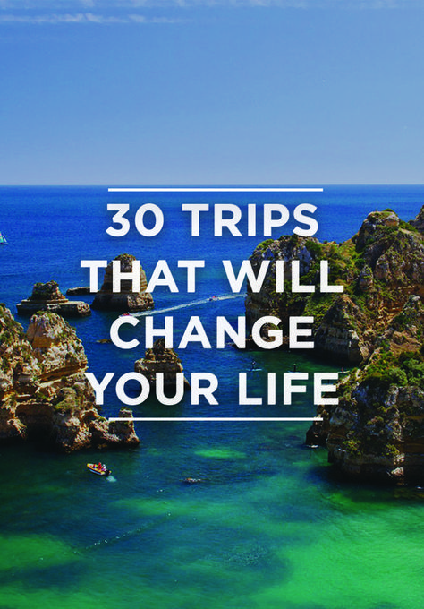 How many places in the world have you visited so far? We hope you can knock off at least 5 on this list. If not, it's time to put in those vacation day requests. From urban hiking in South America to bar hopping in Europe, Smarter Travel has 30 destinatio