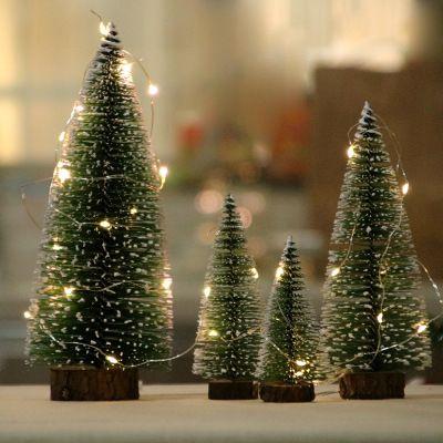 Wholesale Mini Christmas Tree Cedar Desktop Small Christmas Tree Desktop Showcase Platform Chr Mini Christmas Tree Small Christmas Trees Christmas Tree Storage
