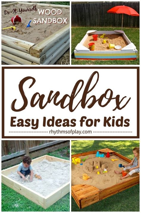 Easy Sandbox Ideas For Kids Here S A Round Up Featuring An