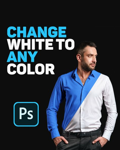 Change White To Any Color In Photoshop