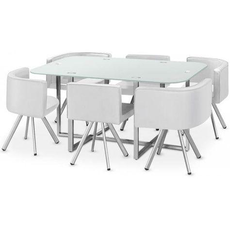 cmTable salle Vito Xl à Table Blanc Mosaic Taille160 SzqVUMp