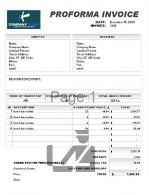 Factura Pro Forma Y Factura Comercial Documentos Para Exportar Fuera De La Cee Http Spainbox Com Fa Facturas Negocios Internacionales Gestion Empresarial