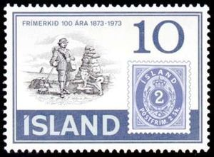 100 Years Iceland Stamps Stamp Iceland Social Security Card