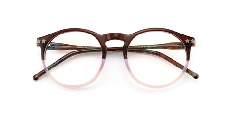 2942500eb91 Concord Unisex Round Metal Clear Clubmaster Glasses ( 12) ❤ liked on Polyvore  featuring accessories