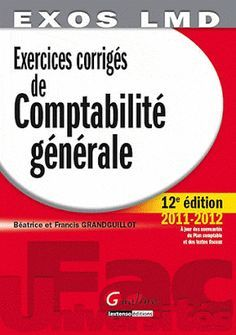 La Faculte Telecharger Comptabilite Generale Exercices Et Corriges Pdf Learn French Education French Books