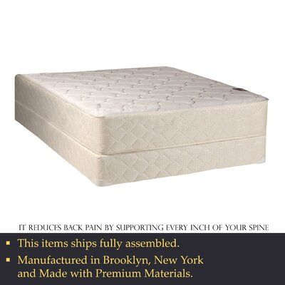 Orthopedic 10 Medium Innerspring Mattress Mattress Size Twin Xl Box Spring Height With Standard Box Spring In 2020 Mattress Best Mattress Box Spring Full