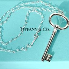 Second Prize:  A Tiffany sterling silver key necklace with chain.  No purchase necessary. The winners will be determined by the number of people following their pinterest board.