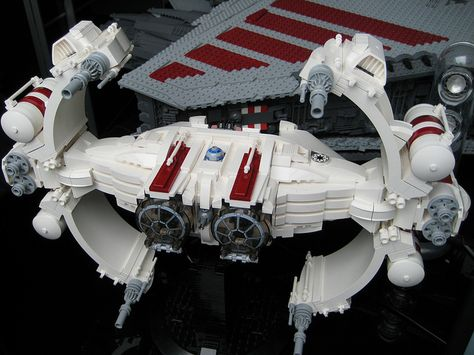 VINDICATOR class heavy starfighter 100% COMPLETE by iomedes !..., via Flickr
