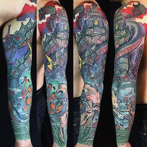 80 Gamer Tattoos For Men