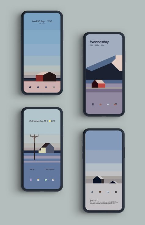 Reddit - androidthemes - [Theme] Sor Helgeland