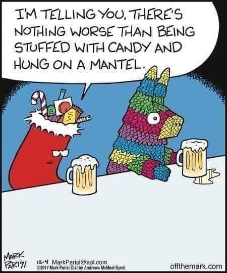 Stocking Vs Pinata In 2020 Christmas Memes Funny Christmas Humor Funny Memes