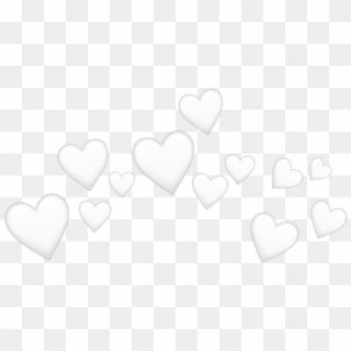 The Newest Heart Shaped Box Stickers On Picsart White Heart Emoji Crown Hd Png Download In 2021 White Heart Emoji Crown Png Heart Crown