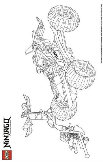 Kids N Fun Com 42 Coloring Pages Of Lego Ninjago In 2021 Ninjago Coloring Pages Coloring Pages Tractor Coloring Pages