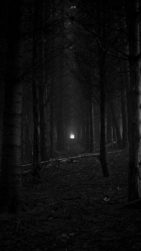 Dark gothic creepy wallpaper