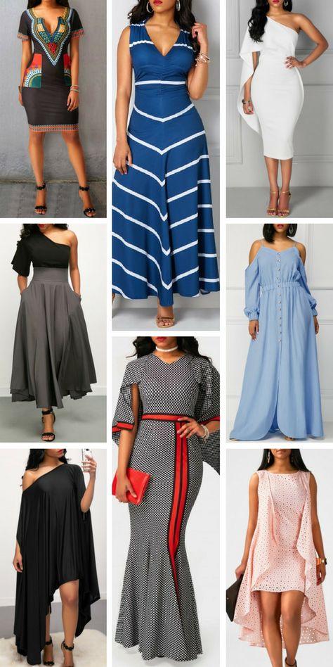 Fashion Dresses For Women 2017