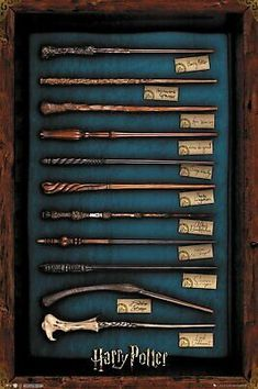 Details about Harry Potter - Movie Poster / Print (The Wands Of Harry Potter) (24